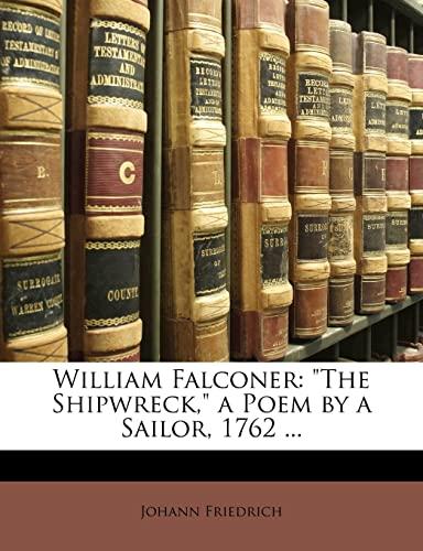 9781147251937: William Falconer: