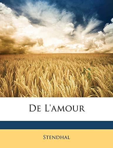 9781147282672: De L'amour