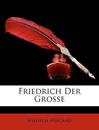 9781147906745: Friedrich der Große