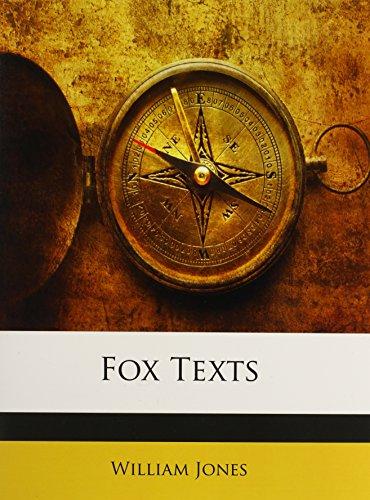 9781148001036: Fox Texts