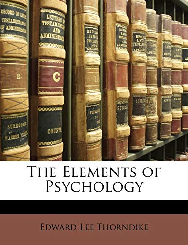 9781148400907: The Elements of Psychology