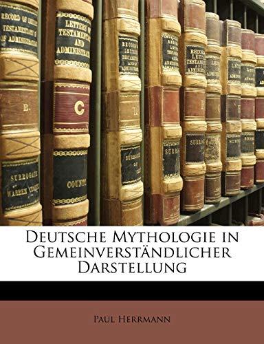 9781148441603: Deutsche Mythologie in Gemeinverständlicher Darstellung (German Edition)
