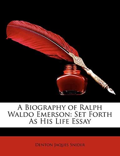 A Biography of Ralph Waldo Emerson: Set