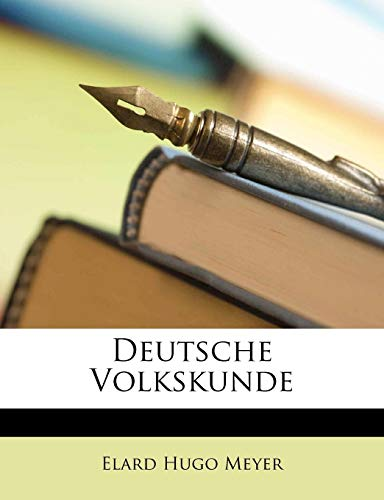 9781148760513: Deutsche Volkskunde (German Edition)