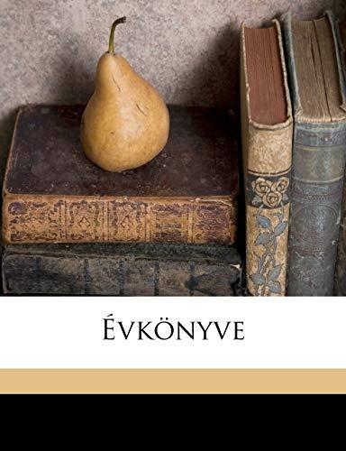 9781149213018: Évkönyve (Hungarian Edition)