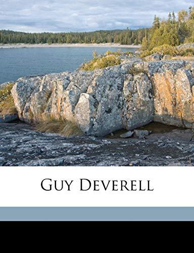 9781149387320: Guy Deverell Volume 1