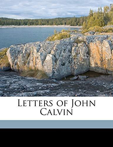 9781149451281: Letters of John Calvin Volume 1