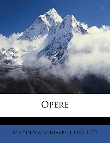 9781149494240: Opere Volume 3 (Italian Edition)