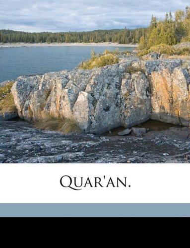 9781149523940: Quar'an.