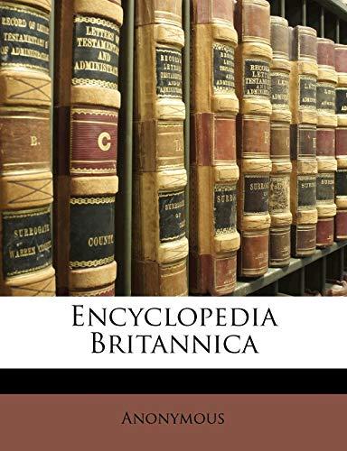 9781149794944: Encyclopedia Britannica
