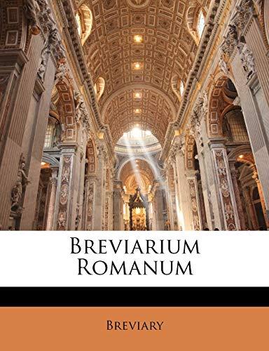 9781149991084: Breviarium Romanum (Latin Edition)