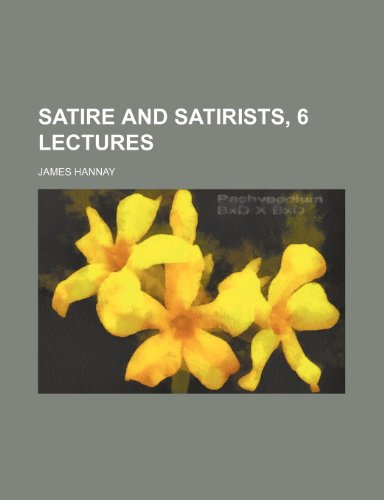 9781150031441: Satire and Satirists, 6 Lectures