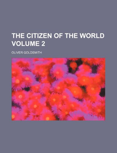 9781150292552: The citizen of the world Volume 2