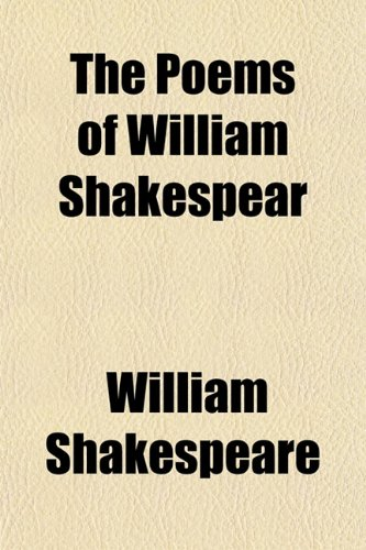 9781150301193: The Poems of William Shakespear