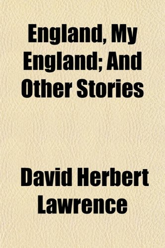9781150344084: England, My England; And Other Stories