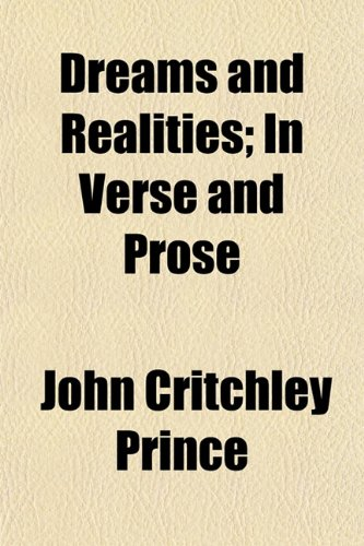 9781150439179: Dreams and Realities; In Verse and Prose