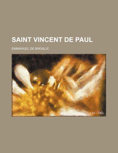9781150480621: Saint Vincent de Paul