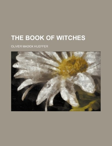 9781150509957: The Book of Witches