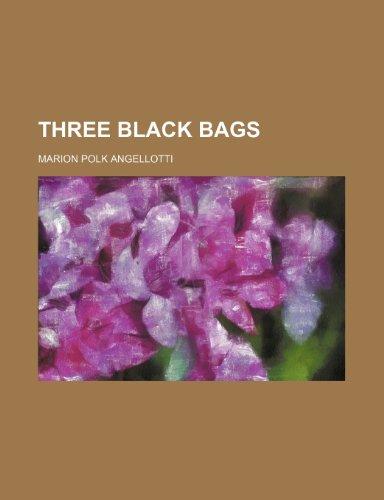 9781150525728: Three Black Bags