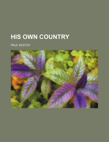 9781150556340: His own country