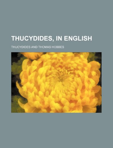Thucydides, in English (1150637870) by Thucydides