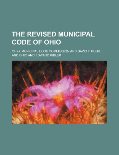 9781150761379: The Revised Municipal Code of Ohio