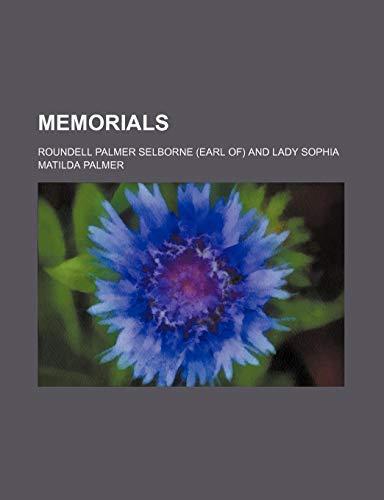 9781150830327: Memorials (Volume 1, pt. 1)