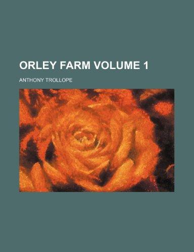 9781150875618: Orley farm Volume 1