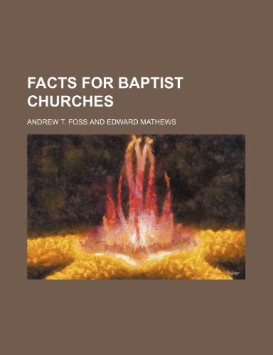 9781151020833: Facts for Baptist churches