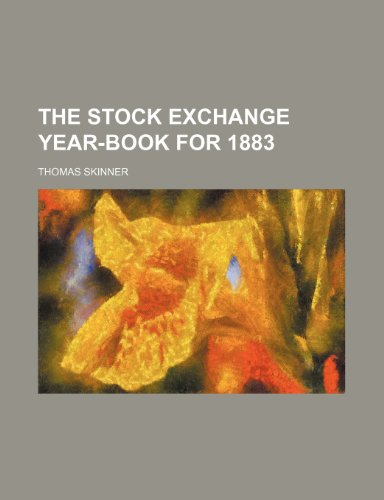 9781151039620: The Stock Exchange Year-Book for 1883