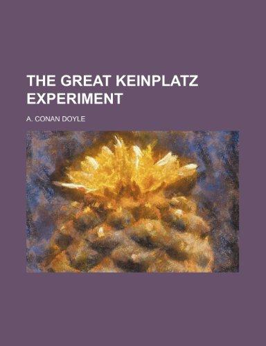 9781151067944: The Great Keinplatz Experiment