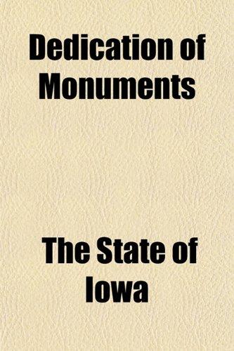 9781151151315: Dedication of Monuments