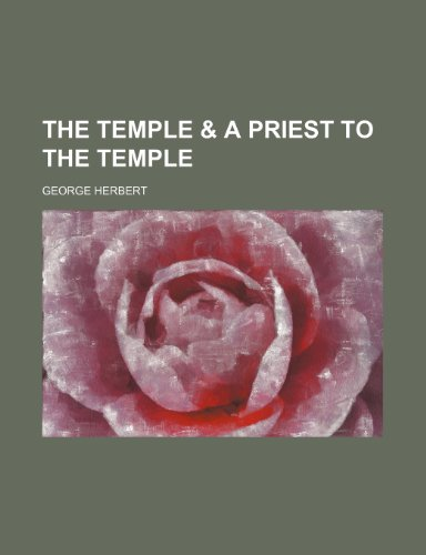 9781151163097: The temple & A priest to the temple