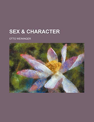 9781151239372: Sex & Character