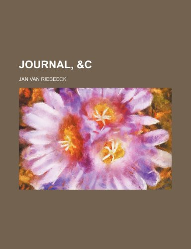 9781151244321: Journal, &c