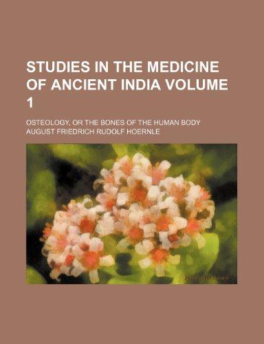 9781151440624: Studies in the Medicine of Ancient India (Volume 1)