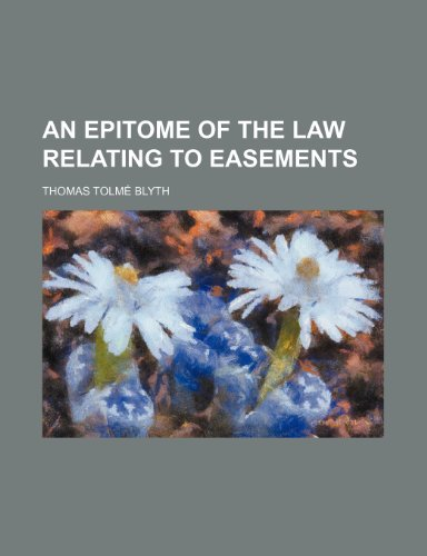 9781151470669: An epitome of the law relating to easements