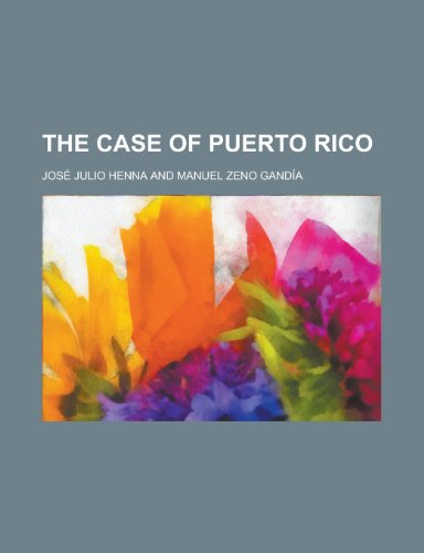9781151673442: The Case of Puerto Rico