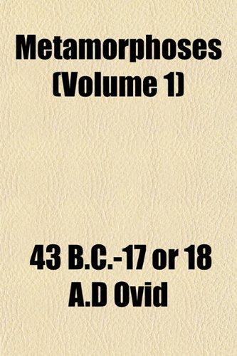 9781151741714: Metamorphoses (Volume 1)