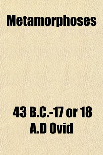 9781151741769: Metamorphoses