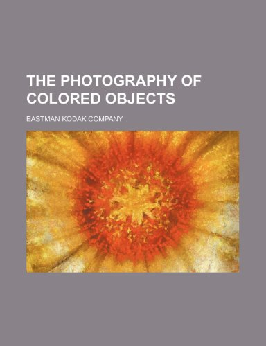 9781151780775: The photography of colored objects