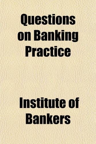 9781151806215: Questions on Banking Practice