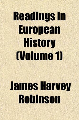 9781151809469: Readings in European History (Volume 1)