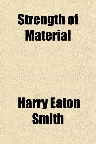 9781151828385: Strength of Material