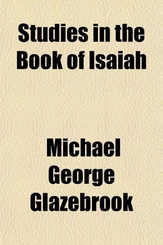 9781151830401: Studies in the Book of Isaiah