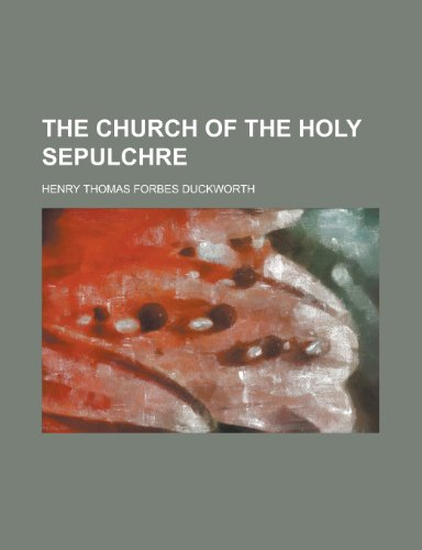 9781151973078: The Church of the Holy Sepulchre