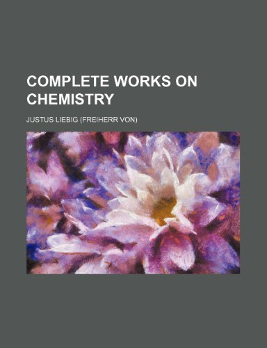 9781151996657: Complete works on chemistry