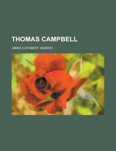 9781152065994: Thomas Campbell