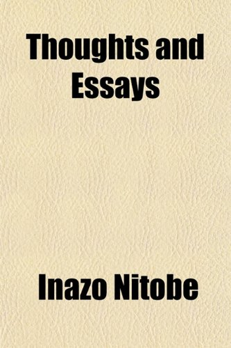 9781152066809: Thoughts and Essays