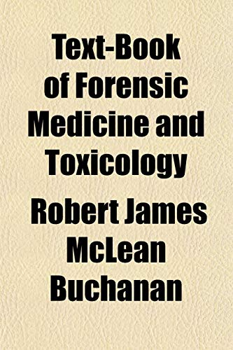 9781152179356: Text-Book of Forensic Medicine and Toxicology